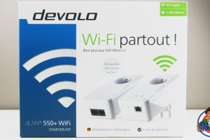 Devolo Kit Starter CPL dLAN 550+ WiFi