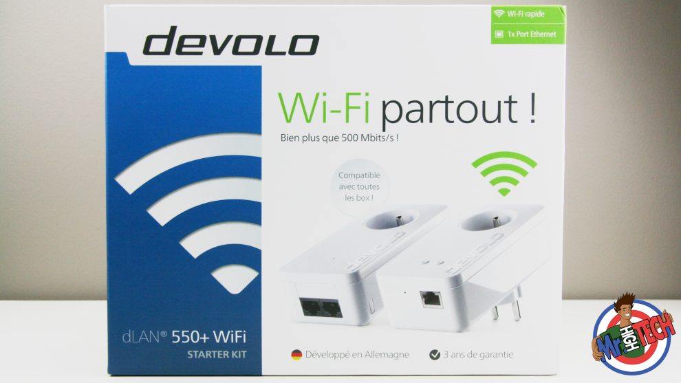 Devolo Kit Starter CPL dLAN 550+ WiFi