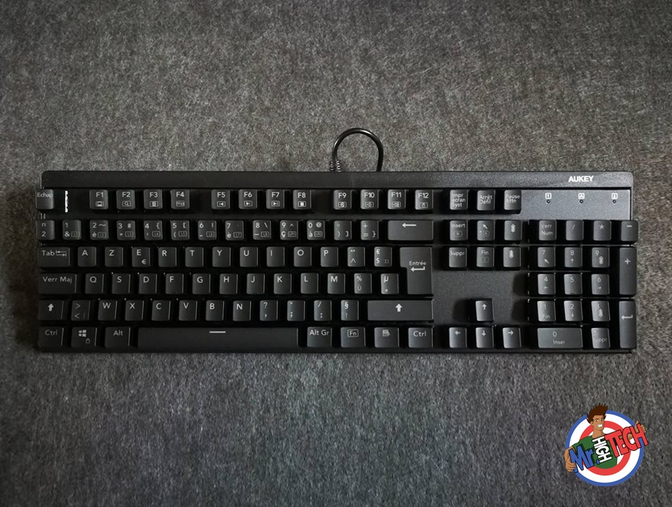 Aukey KM G6 : Test d'un clavier mécanique pas cher et Avis
