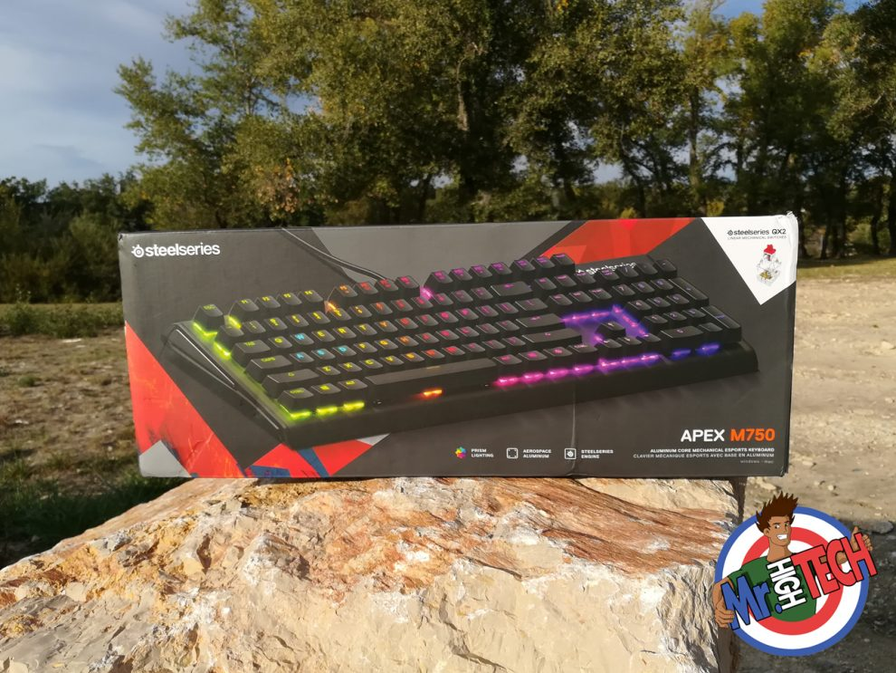 Clavier Steelseries Apex M750