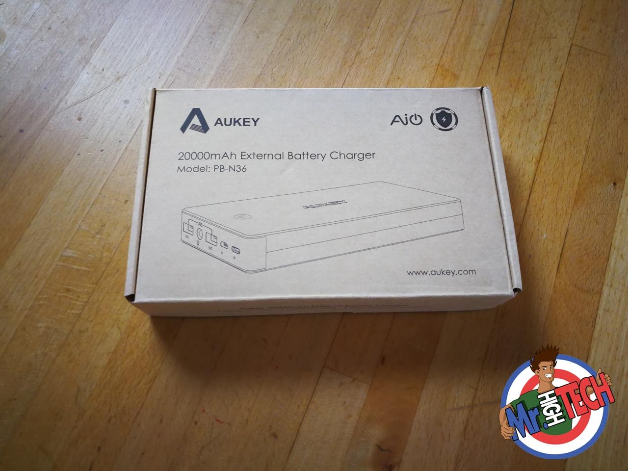 Aukey PB-N36 Batterie externe 20000mah