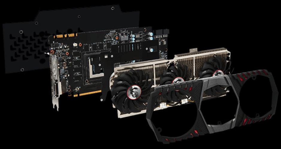 GTX 1080 TI GAMING X TRIO
