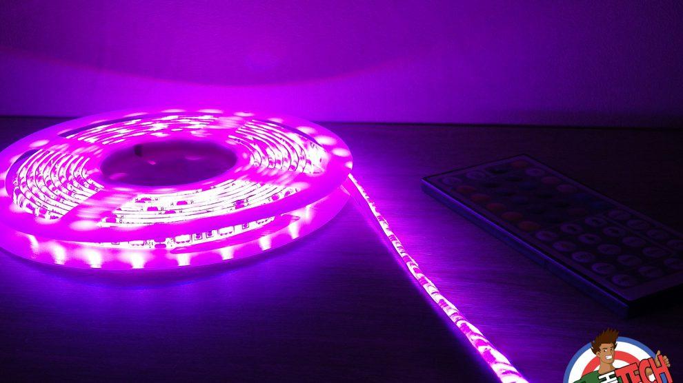 Ruban LED RGB 5050SMD