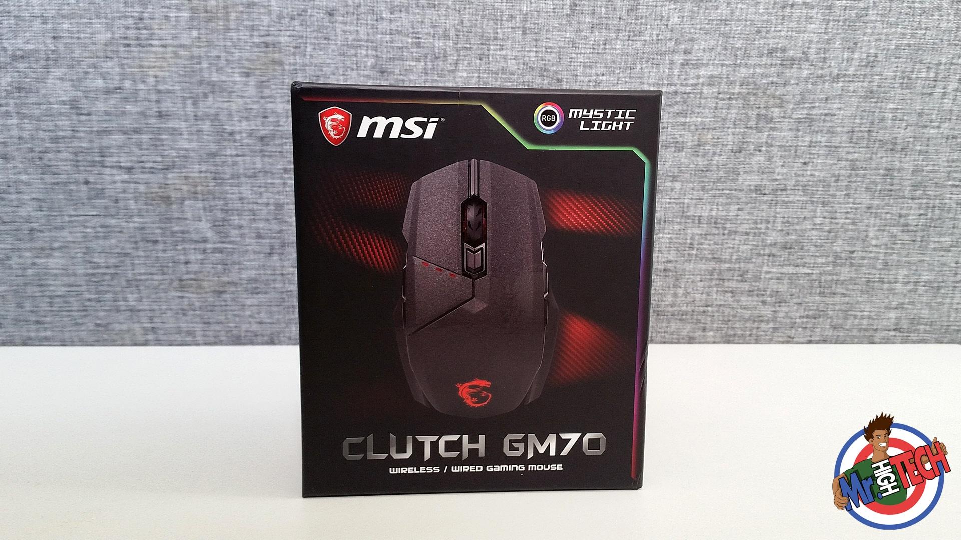 b7d98da1db6 MSI Clutch GM70 : Test de la souris gamer MSI et Avis complet