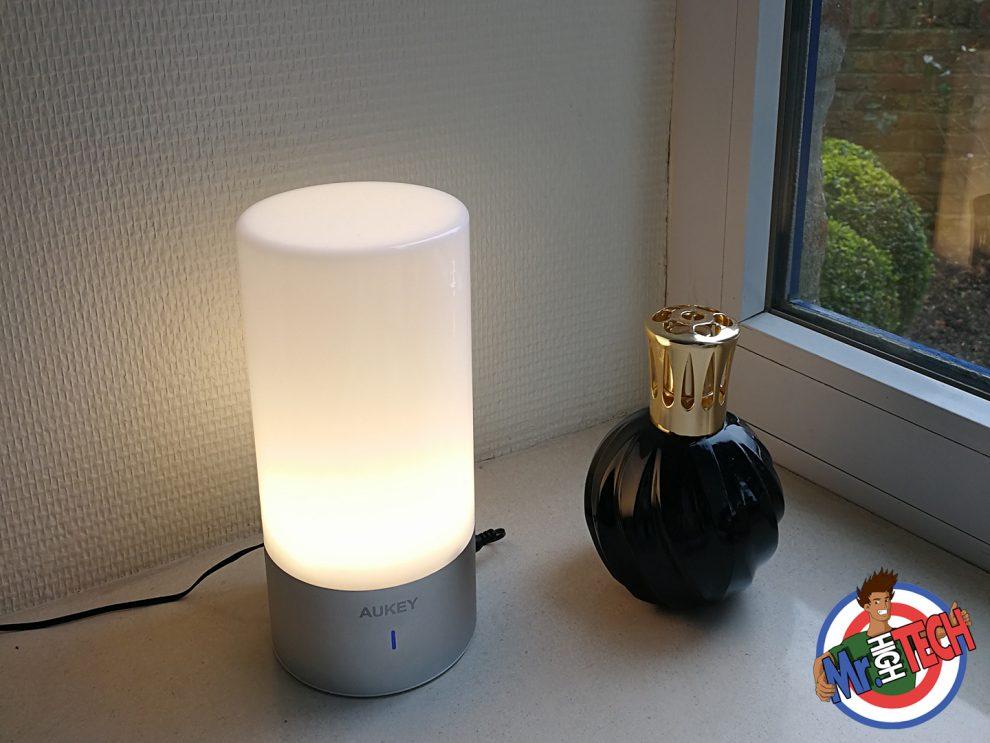 Lampe De Chevet Tactile Aukey Test De La Lampe Connectée Et