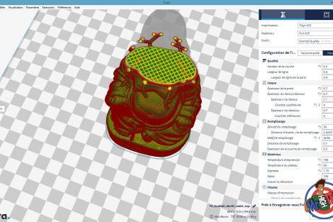 Logiciel Cura Impression 3D