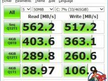 SSD Crucial MX500