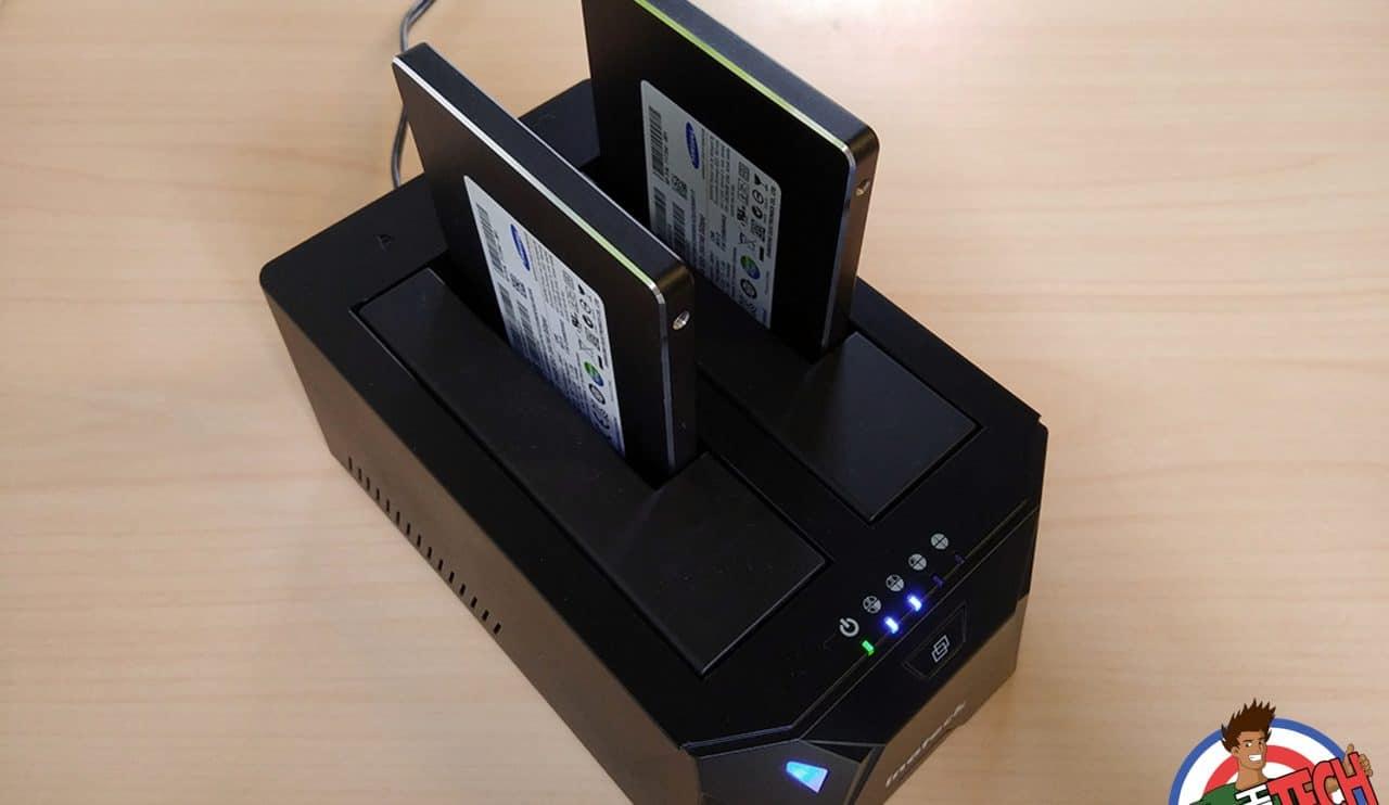 Inateck Baie d'accueil USB3 FD2005