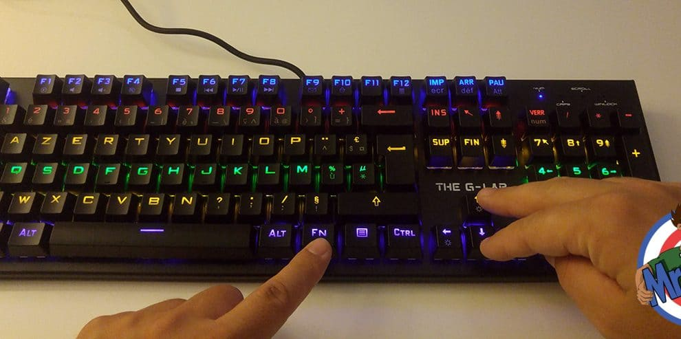 The G-LAB Keyz Carbon²