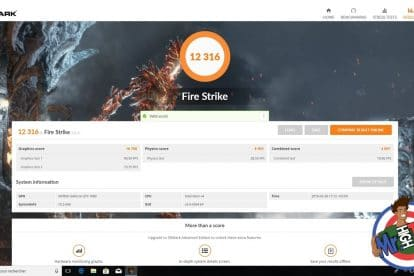Benchmark Shadow PC