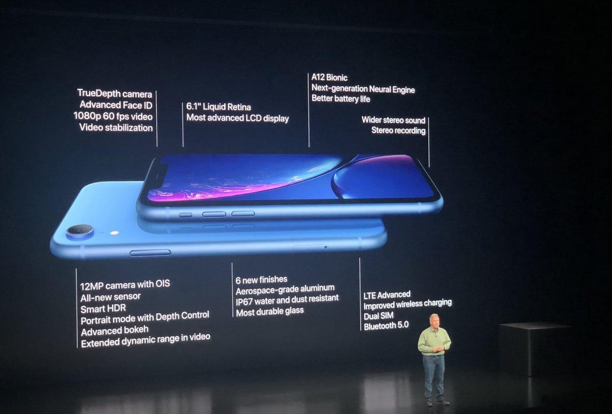 L'iPhone Xr et c'est différentes caractéristiques