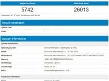 crucial geekbench1 ram rgb a 1600 avec cg