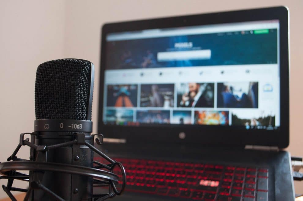 Microphone Youtubeur pas cher
