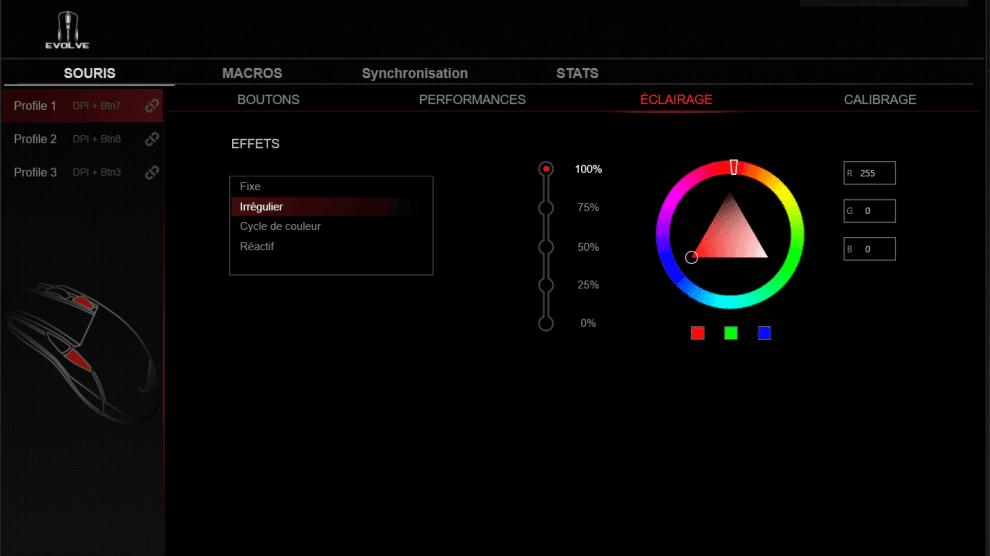 logiciel ROG Armory