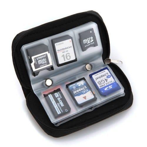 Étui rangement carte micro SD