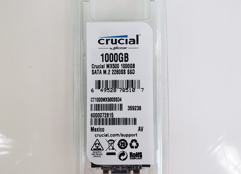 Crucial MX500 M2 1To