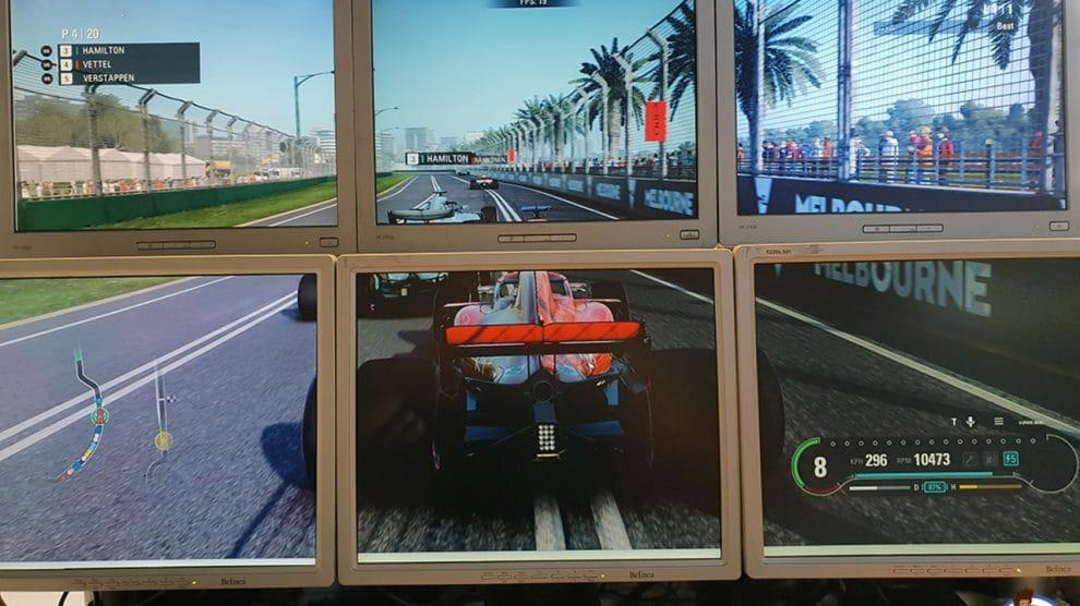 6 écrans multi écrans NUC Intel Hades Canyon NUC8i7HVK