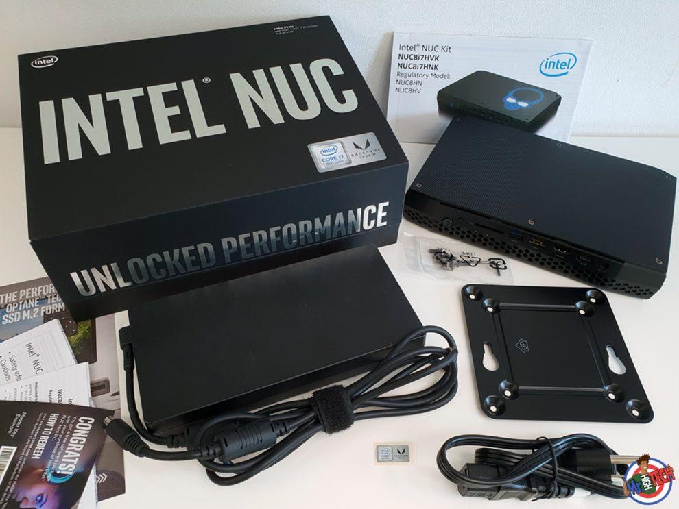 NUC Intel Hades Canyon NUC8i7HVK