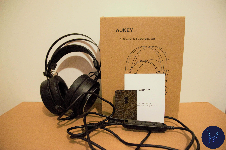 casque Aukey GH-S5 boîte aukey