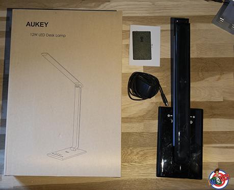 Aukey T10Test Tactile Complet Lampe De Bureau Avis Et Lt La UpqSzMV