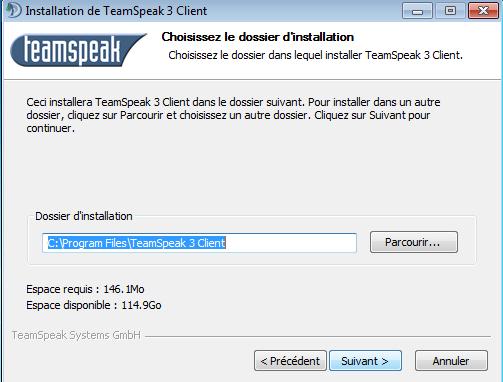 tuto logiciel TeamSpeak 3