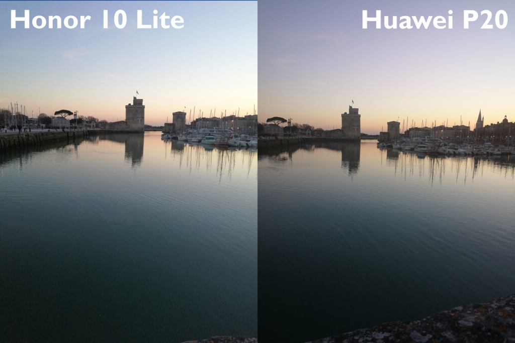 Honor 10 Lite VS Huawai P20