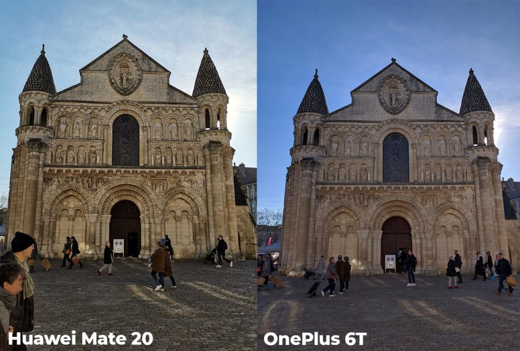 Photo Huawei Mate 20 VS OnePlus 6T