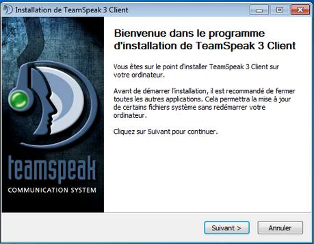 logiciel TeamSpeak 3