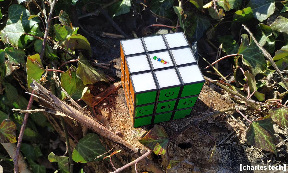 enceinte rubiks cube