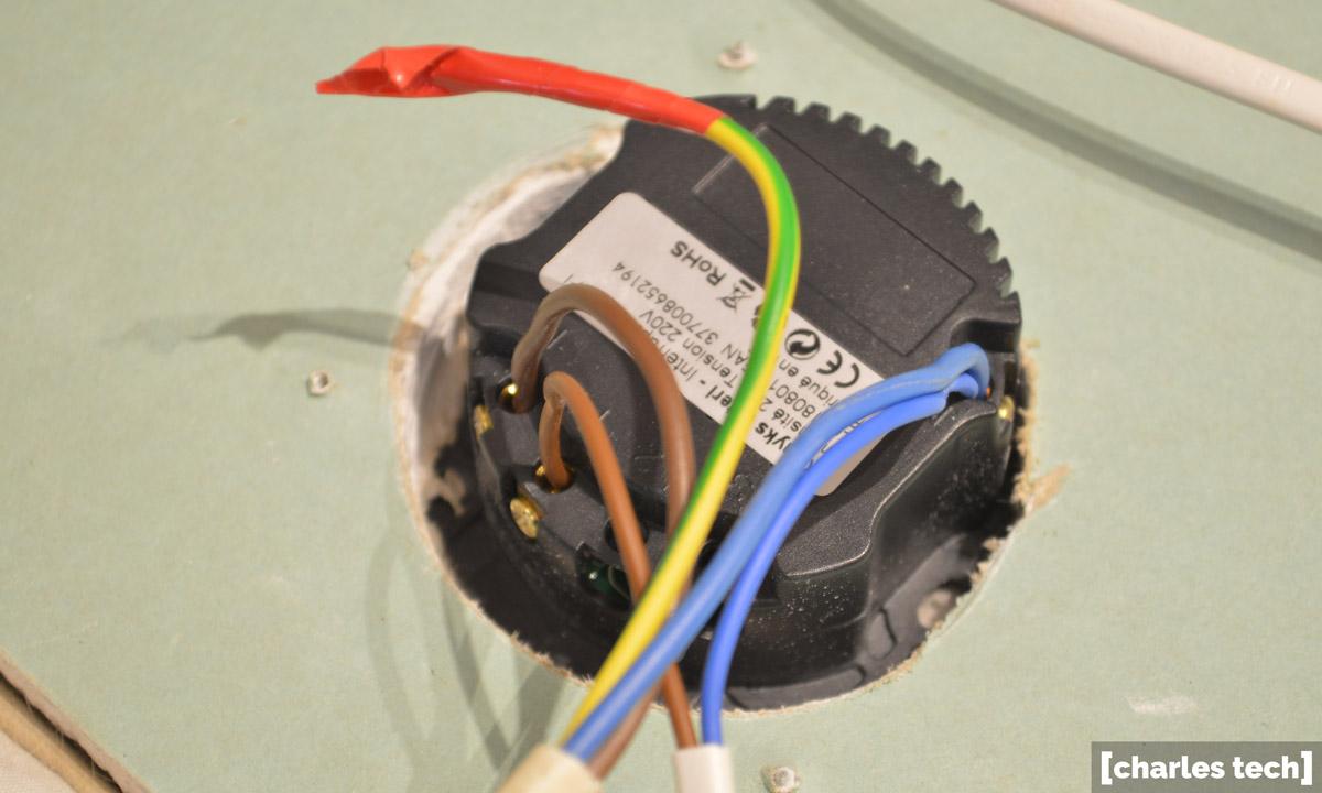 installation Interrupteur connecté Konyks