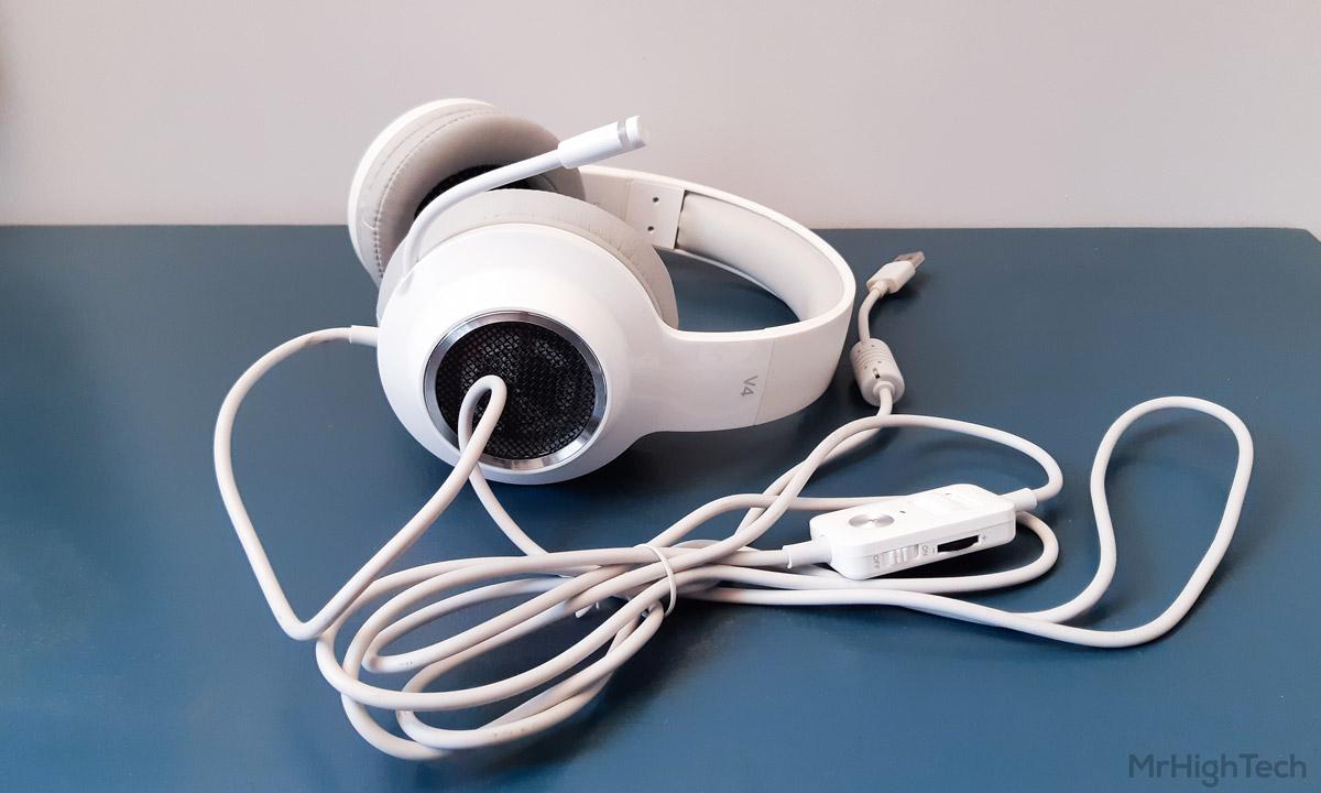 edifier v4 câble