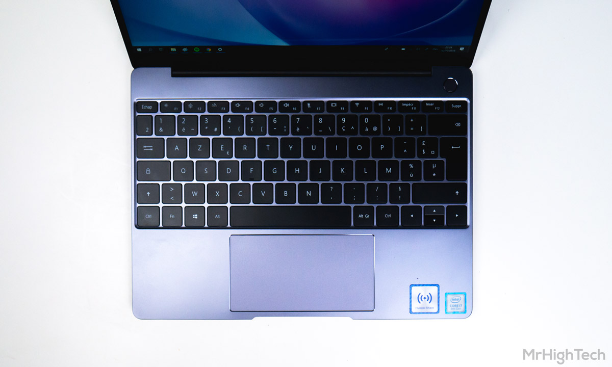 clavier Huawei MateBook 13