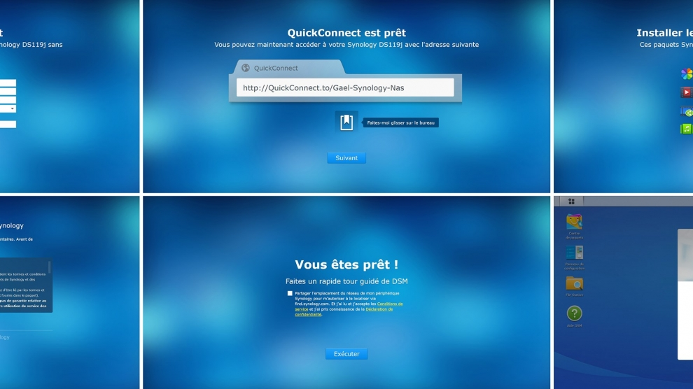 Nas Synology screens pas a pas 2