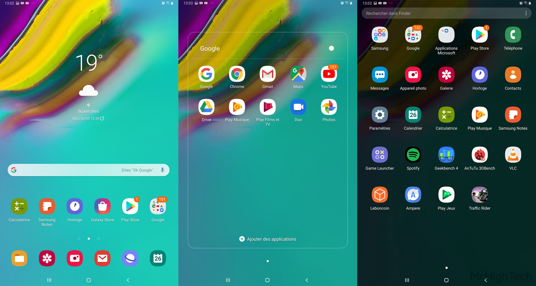 samsung galaxy tab s5e interface