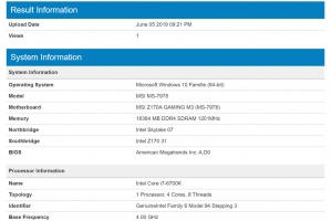 GeekBench Ballistix Elite 2400