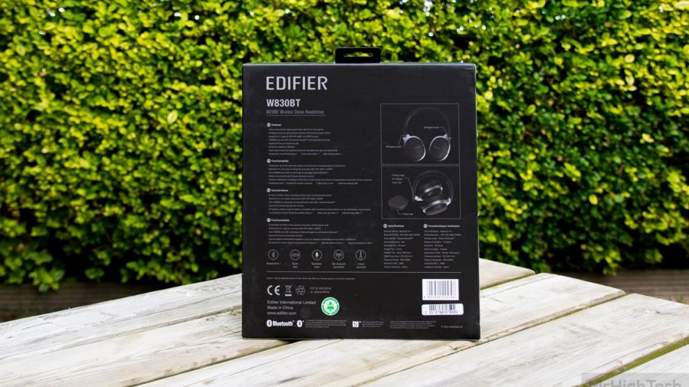 edifier W830BT boite 2