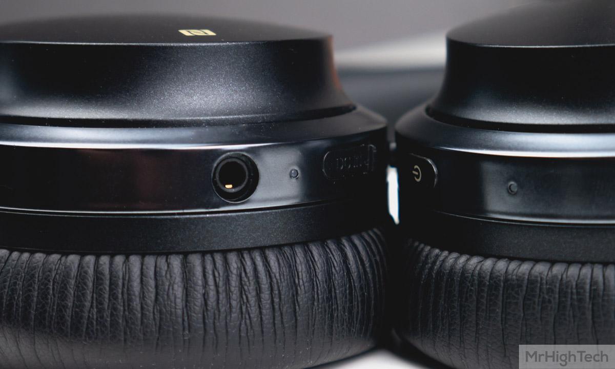 Edifier W860NB connecteurs
