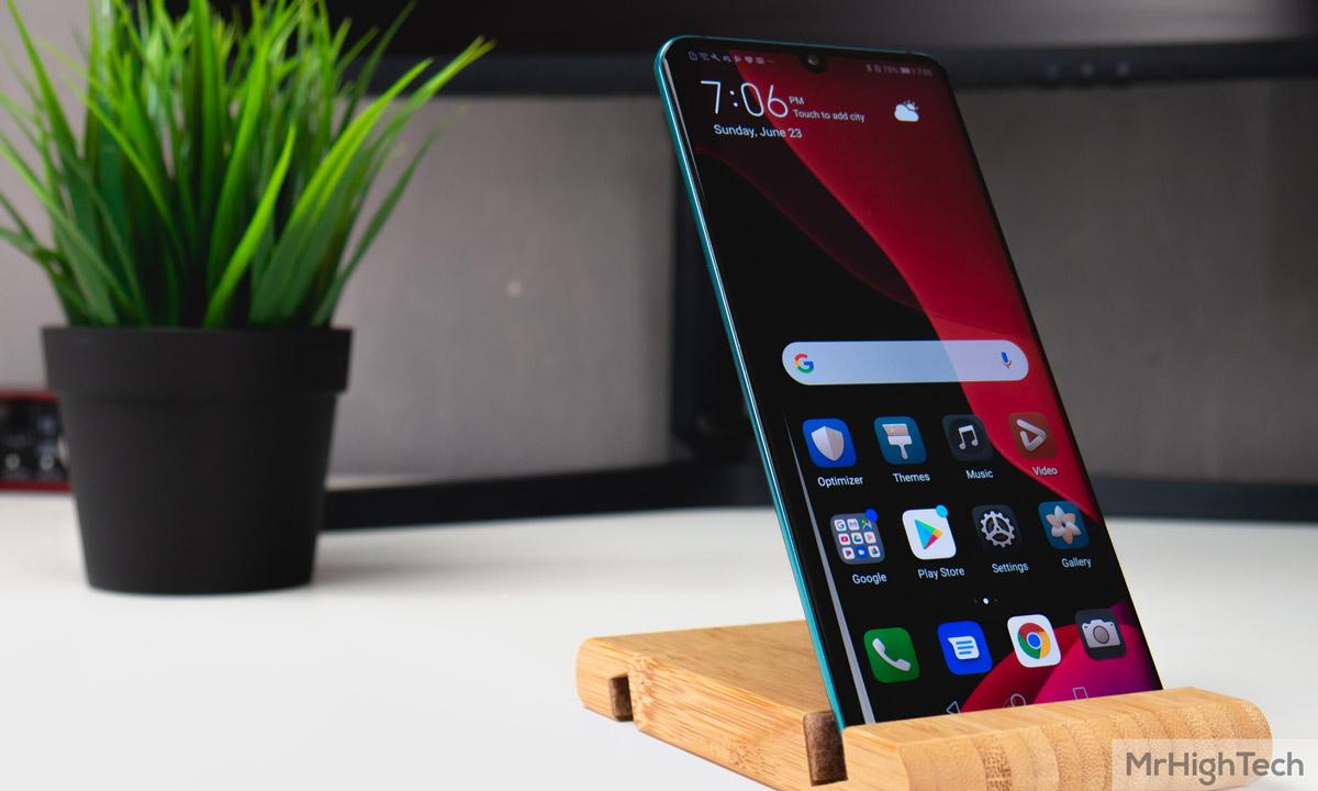 Huawei P30 Pro écran