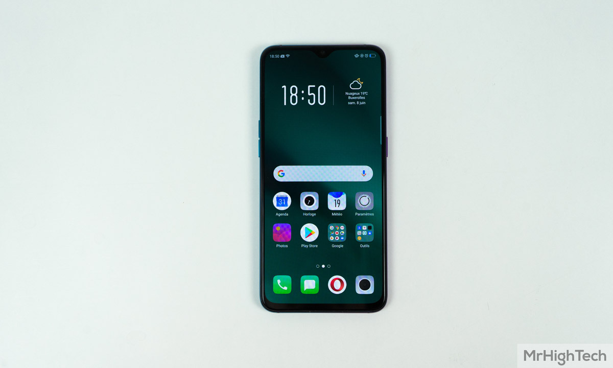 oppo rx17 Pro face