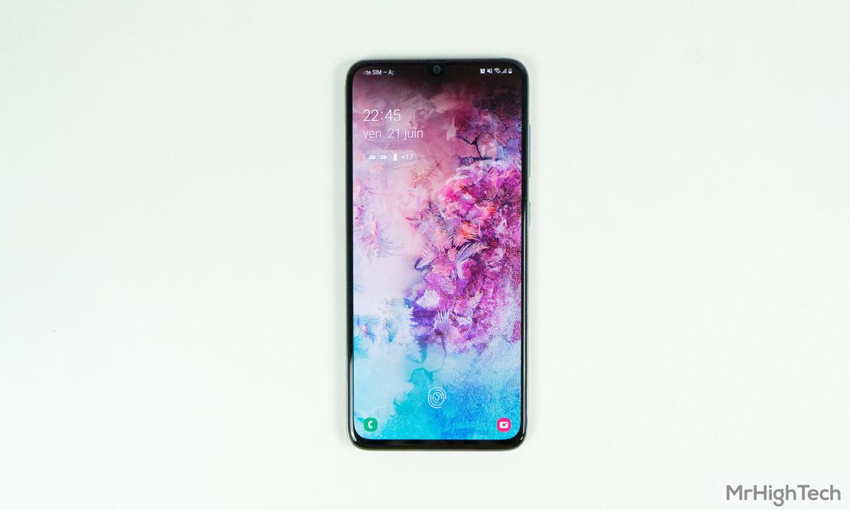 samsung galaxy a70 écran