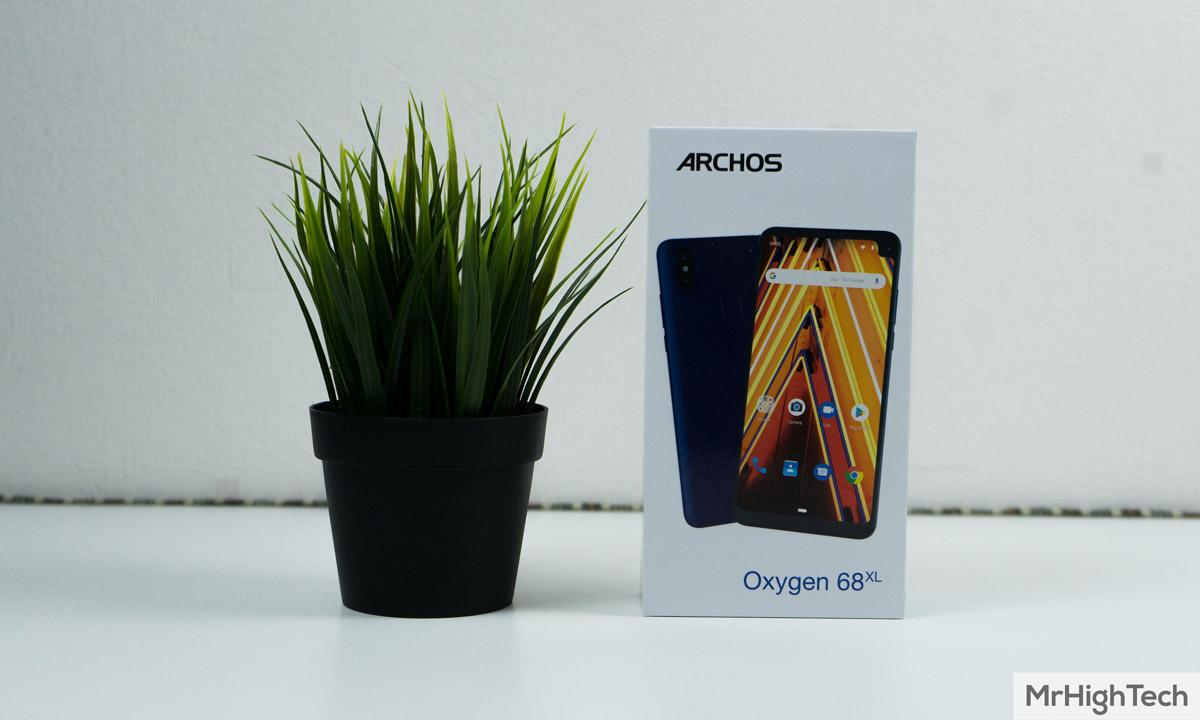 archos oxygen 68XL boite