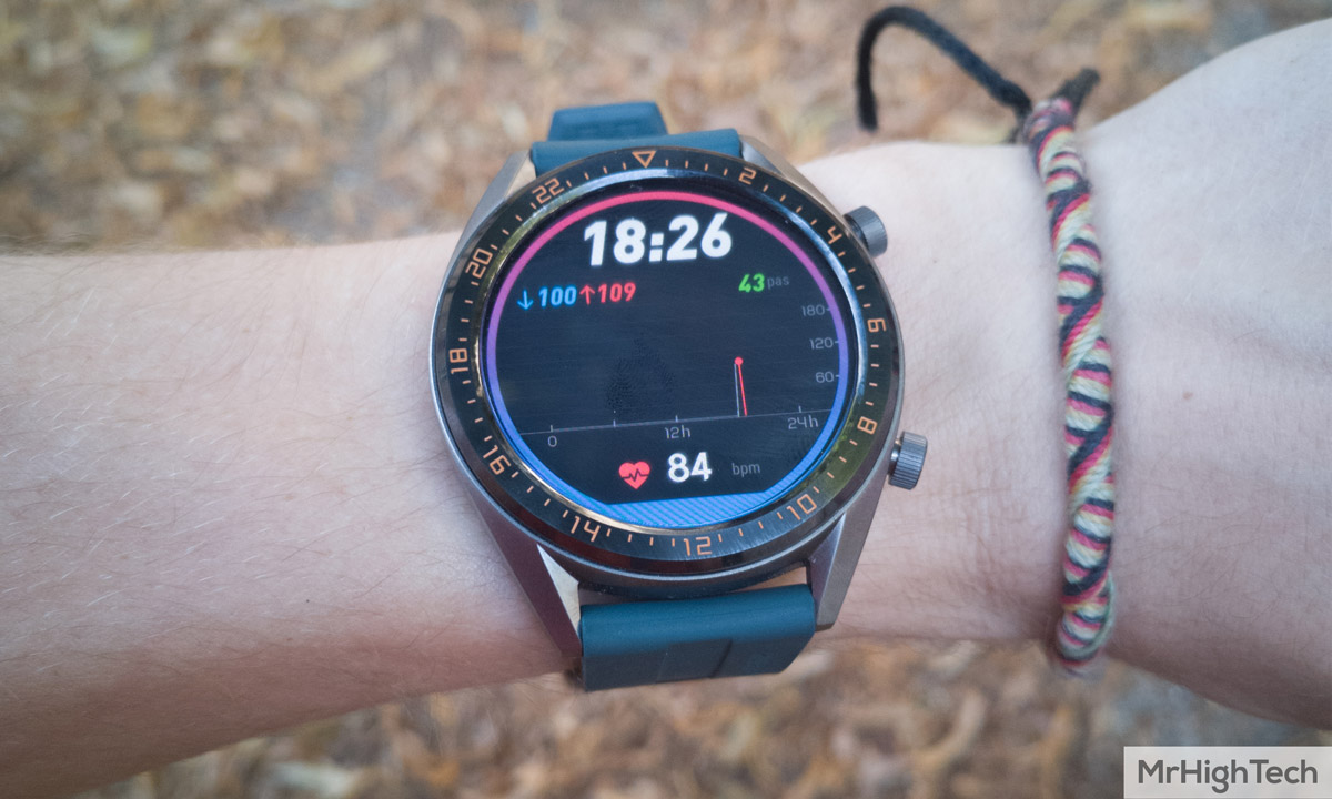 huawei gt watch active écran