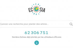 moteur de recherche écolo ecosia