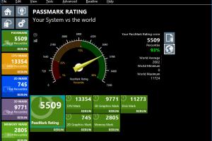 performancetest msi p65 creator 8RF