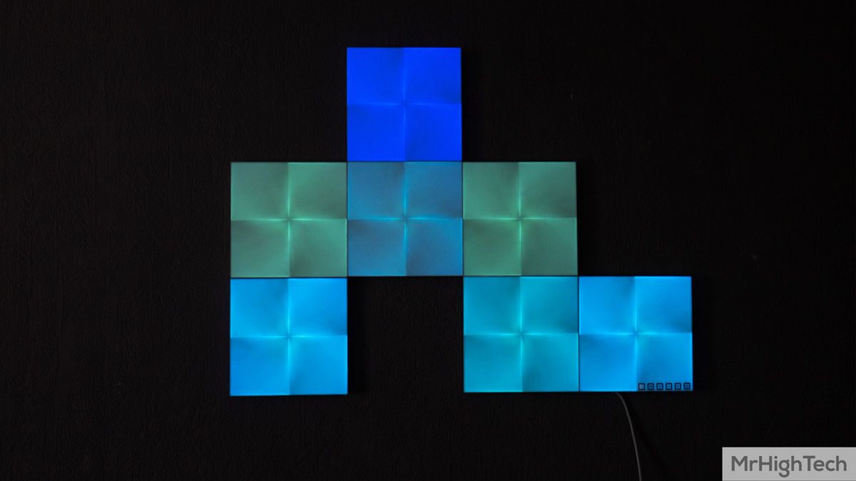 panneaux nanoleaf canvas