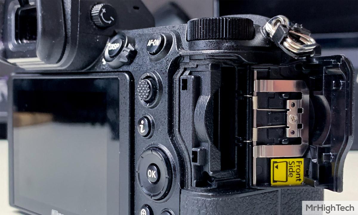 Nikon Z7 XQD