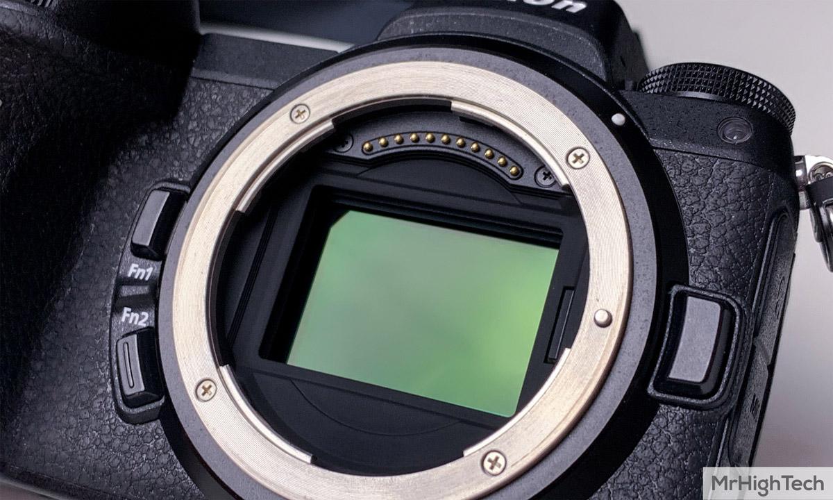 Nikon Z7 capteur