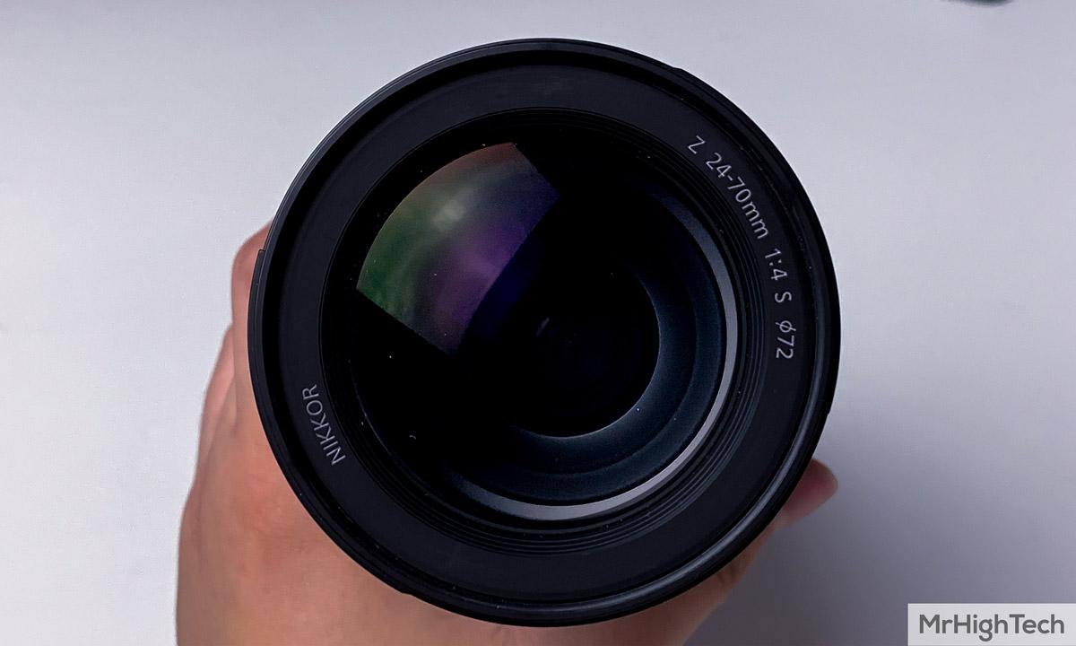 Nikon Z7 objectif