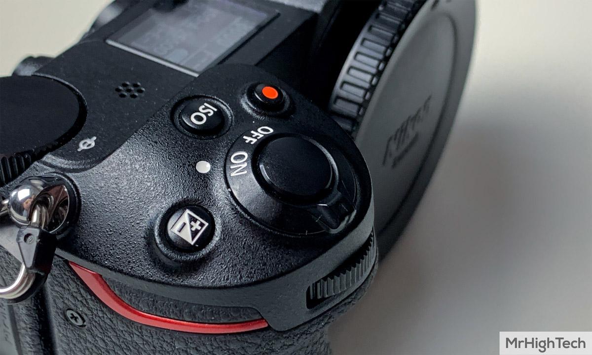 Nikon Z7 boutons