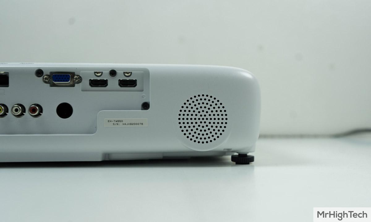 epson eh-tw650 haut-parleur